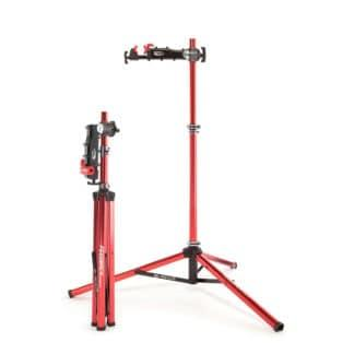 bike repair stand folded and open