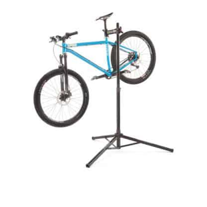 Bicycle in bicycle repair stand