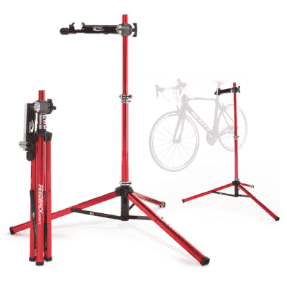 bicycle repair stands in various uses