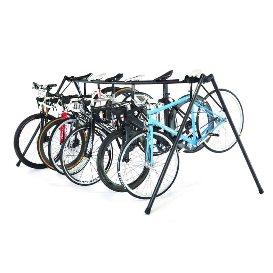 A Frame Portable Cycling Event Storage Stand Feedback Sports
