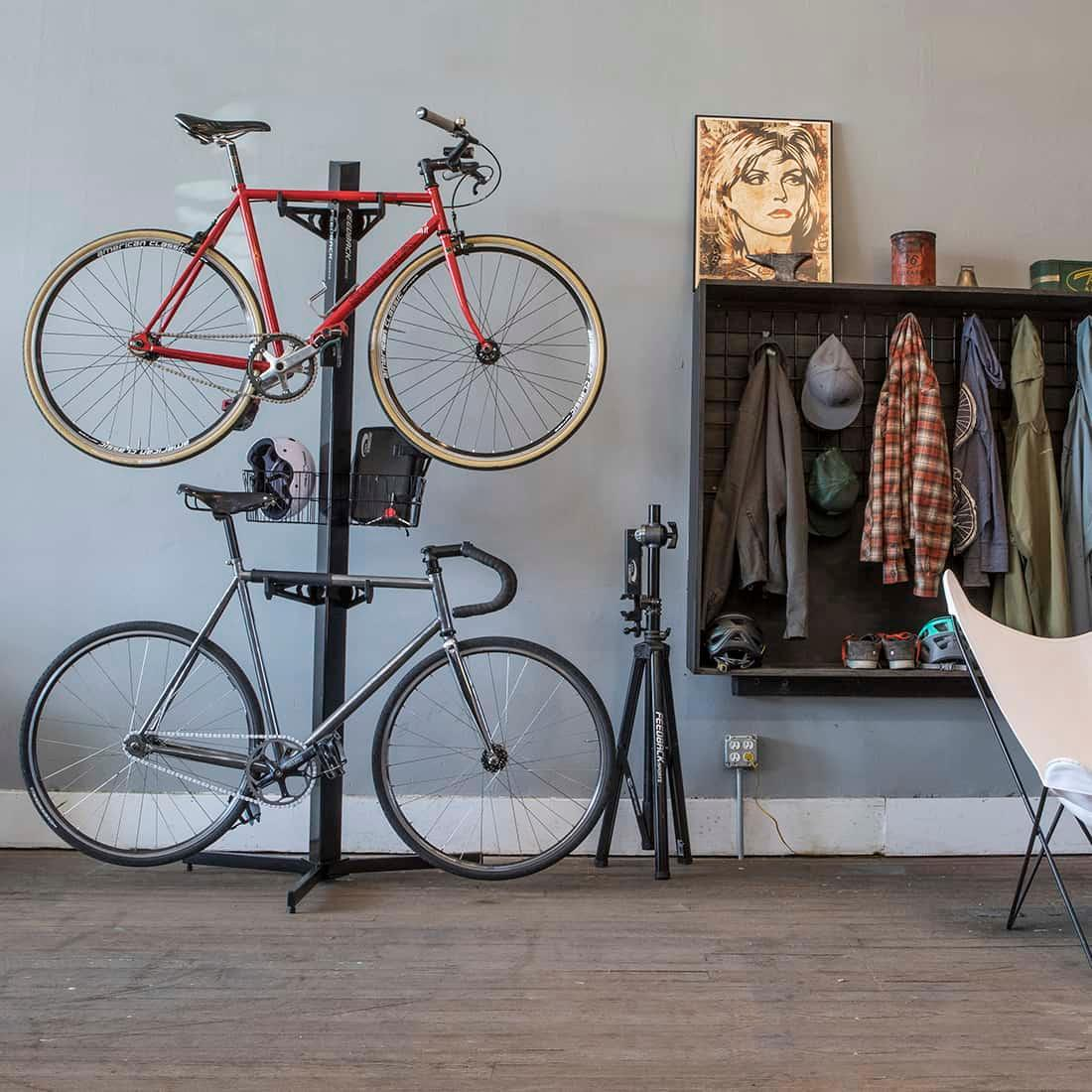 Velo Cache | Feedback Sports | Elegant Bike Storage Solutions