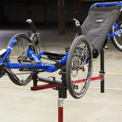 tricycle on repair stand
