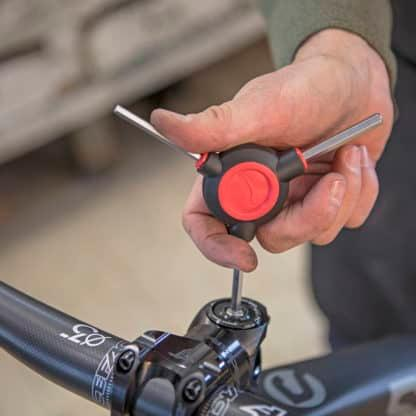 bicycle tool in use