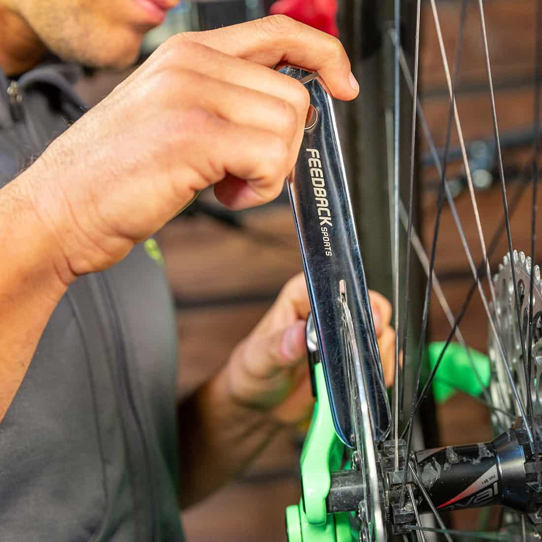 Bicycle Rotor Truing wrench Fork tool