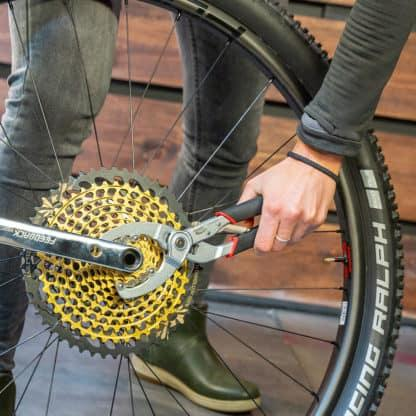 using bicycle tools