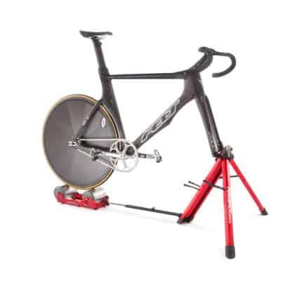 bike on stationary trainer