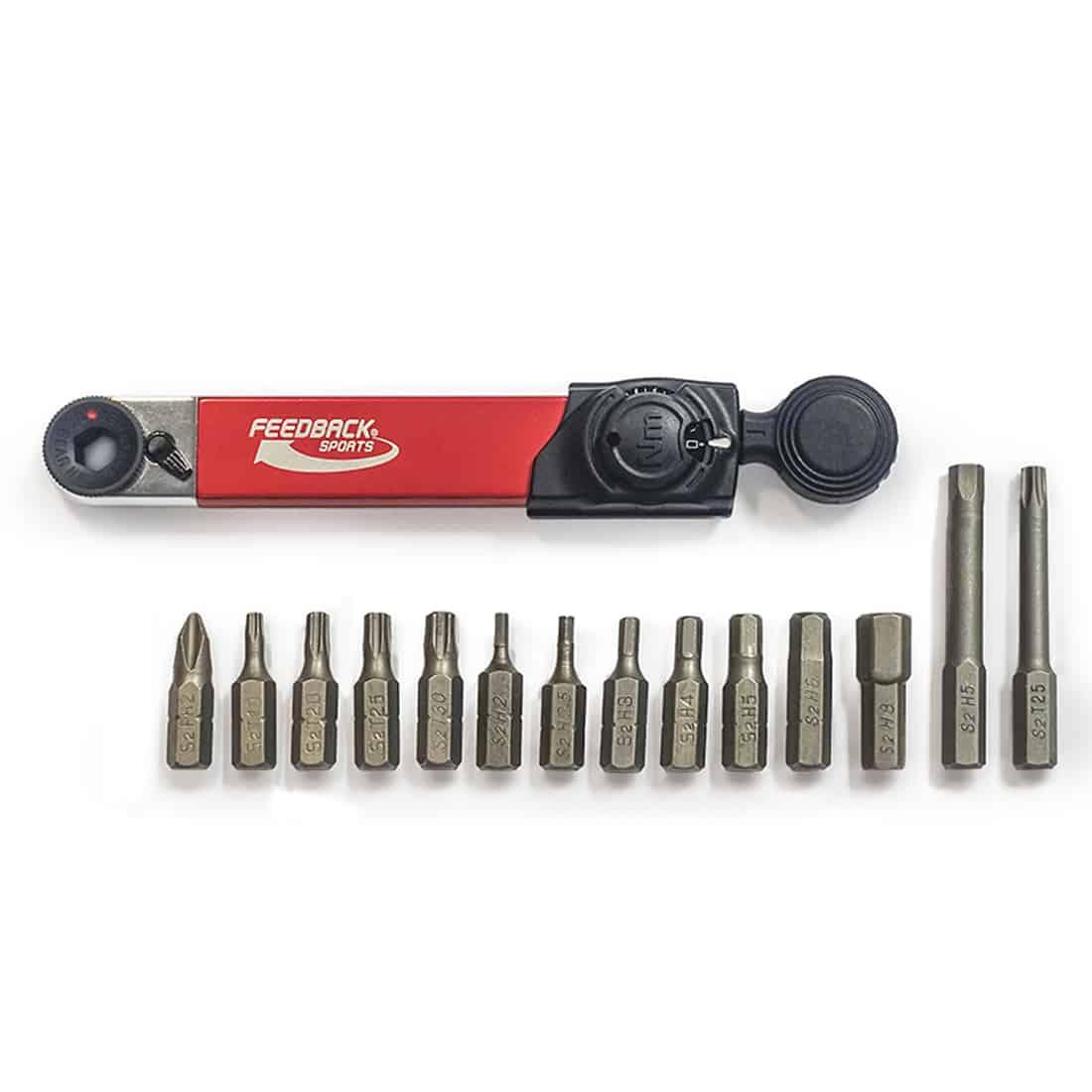 Feedback Sports Range Torque Ratchet Combo Professional Grade Bicycle Tool 17360